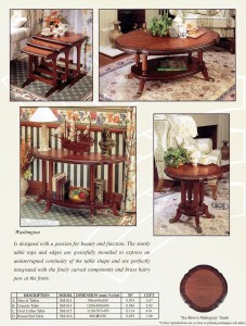 Console Table, End Table, Nest of Tables, Coffee Table